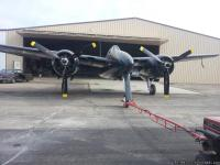 ESTATE SALE; This F7F Tigercat has just completed a six