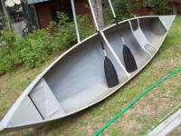 This Grumman 13' Canoe is approximately 30 years old,