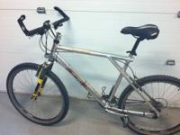 UP FOR GRABS IS A GT AVALANCHE ALL TERRA MOUNTAIN BIKE