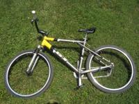 GT Avalanche hand-built aluminum frame -- large --