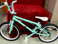 I have a Mint Green GT Bikes Compe freestyle bike. This