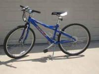 Blue GT Outpost Mountain Bike for sale. 12.5 frame,