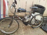 I'm selling a GT TRIPLE TRIANGLE mountain bike with a