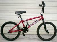 "GT Bikes Fly BMX Racing Bike 20"" Boy's Bicycle This is"