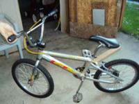 i have a GT mach two bmx bike got it with a new chain