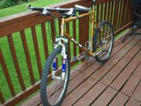 For sale is a GT Timberline Mountain Bike acquired new