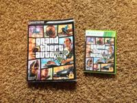 Offering a best copy of GTA 5 for xbox 360. The disc is