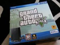 I have a brand new gta v budle ps3 still has box etc