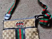 Divorce sale, authentic Gucci bag. No tears or rips. In