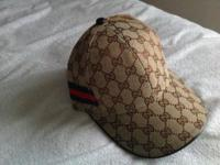 Gucci Cap, like new, clean inside & out, in perfect
