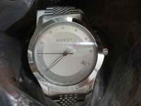 BRAND: Gucci Gucci YA126404 Men's Watch - Stainless