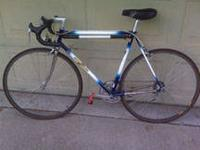 Top of the line racing bike in excellent, shape and has