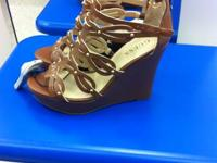Simply purchased these very adorable brown Guess wedges