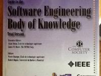 "Guide to the ""Software Engineering Body of Knowledge""."