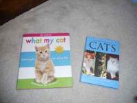 "Hard Cover book ""What My Cats Taught Me"" Very cute!"