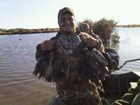 We're booking fast for this upcoming duck season and