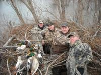 Come hunt waterfowl in the famed Mississippi Delta! We