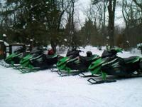 GUIDED SNOWMOBILE TOURS THRU THE NORTH WOODS OF
