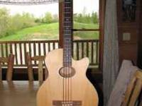1996 Guild Acoustic Bass B4CE-NT-HR in excellent