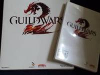 Guild wars PC game and detailed game book  in excellent