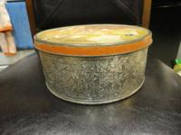 GuildCraft New York vintage tin container for $8. In