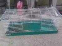 Small critter's cage. Formally used for a guinea pig.