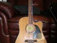 Up for sale I have a Lyon by Washburn electric acoustic