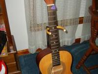 Fender-- Squier----Acoustic-----Plays Good ---GREAT