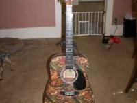 INCLUDES: Case,Stand,Tuner and Guitar. in perfect shape