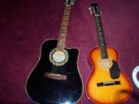 Four Guitars for Sale: One- Esteban, black silver