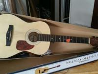 FIRST ACT ACUSTIC GUITAR IN BOX. EXCELLENT CONDITION