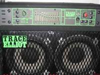 Grate two stack Model G120CXL for $500. Bass amp TRACE