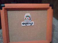 Selling my orange guitar amp, I would like to get 75