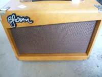 Two amps, Esteban G-10 and Peavey Rage 158. $25 each or