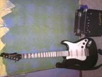 i am selling a vanage electric guitar and an amp. i