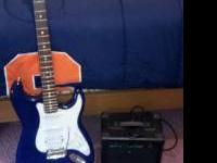 Glen Burton guitar and amp for sale...Excellent