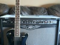 Paul Reed Smith Tremonti SE guitar and a Peavey Valve