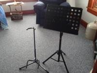 Ultra Guitar Stand and Stagg Music Stand $75.00 For