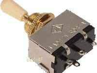 Guitar BoyZ Gibson Style 3 Way Toggle Switch Closed -