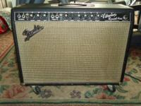 67 blackface Fender Vibrolux, near mint condition,