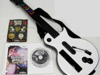 Up for sale is (1) Guitar Hero 3 package for the white