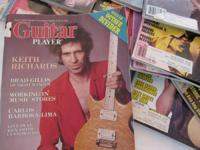 30 Guitar Magazines from the 80's -- all in great shape