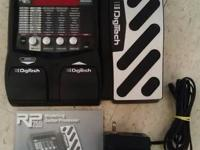 I have a rarely used, Digitech RP 255 Modeling Guitar