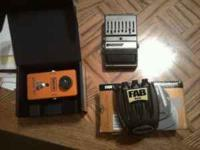 I have three pedals for sale. DOD equalizer- $20 OBO