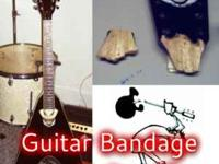 Broken Headstocks, Necks, Cracks, Scuffs, Nicks,