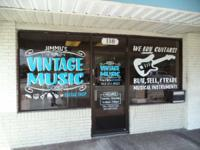 Cool vintage and newer guitars and amps for sale.