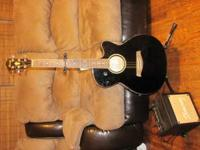Ibanez Guitar with stand and Ibanez speaker please call