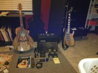 I have 2 guitars one is a acoustic/electric guitar,