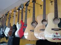 We have many guitars and amps in stock and all set to