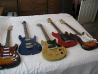 I'm selling a few of Guitars I've had for awhile. These